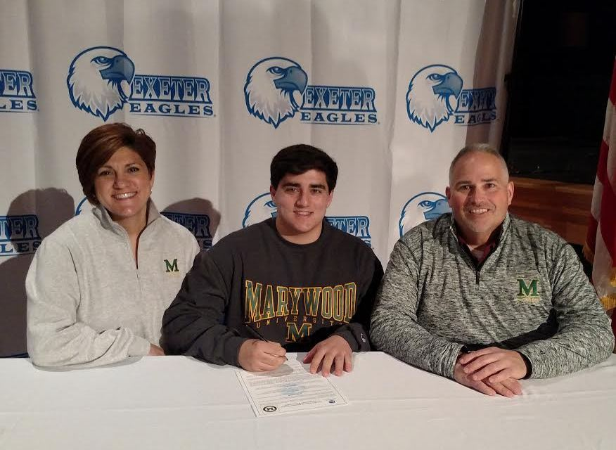 Exeter's Griffin Pyott signs on with Marywood