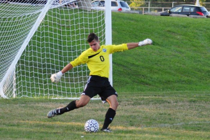 Caruso looked way past the pitch to find New Jersey Institute of Technology men's soccer