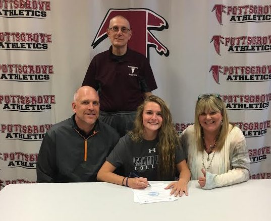 Pottsgrove's Molly Galvin signs on with Lebanon Valley College