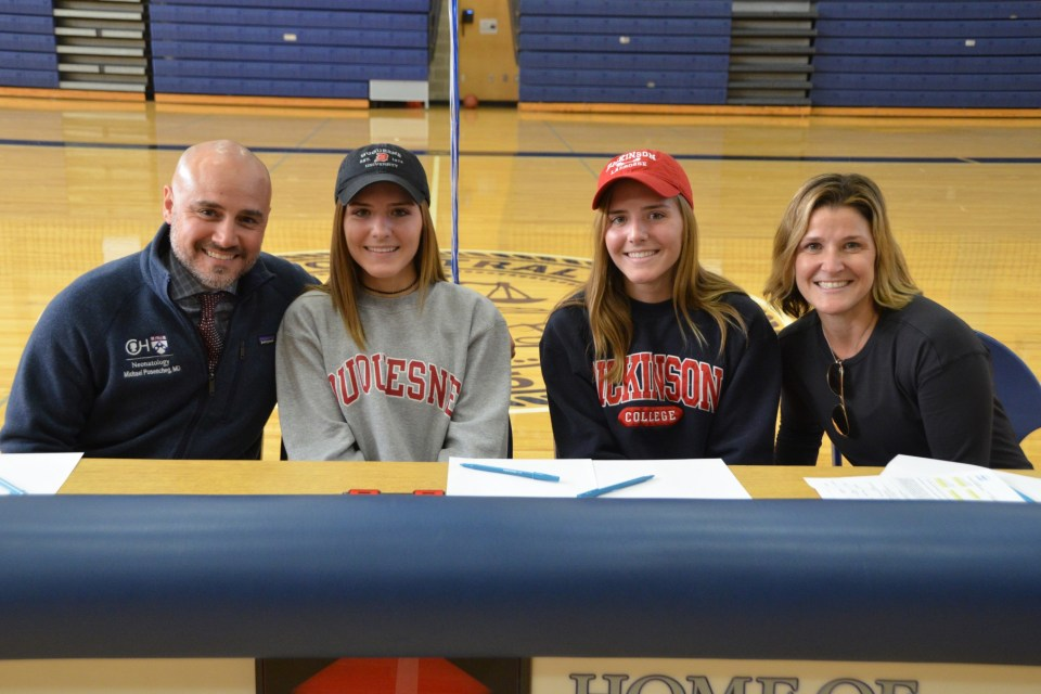Friends' Central's Posencheg twins to continue lacrosse careers in college