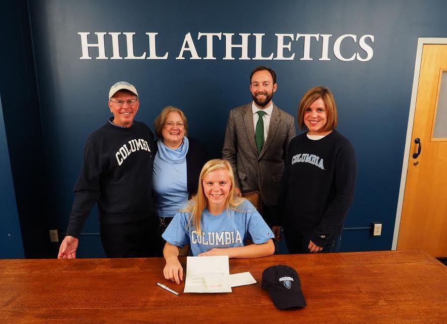 The Hill School's Cayla Davis commits to Columbia