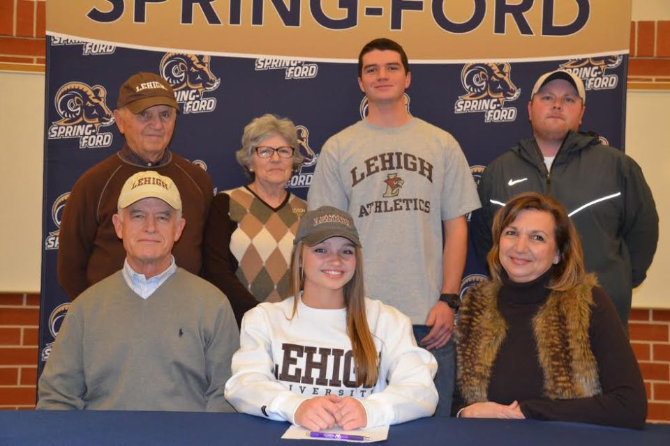 Spring-Ford's Libby Andrews commits to Lehigh University