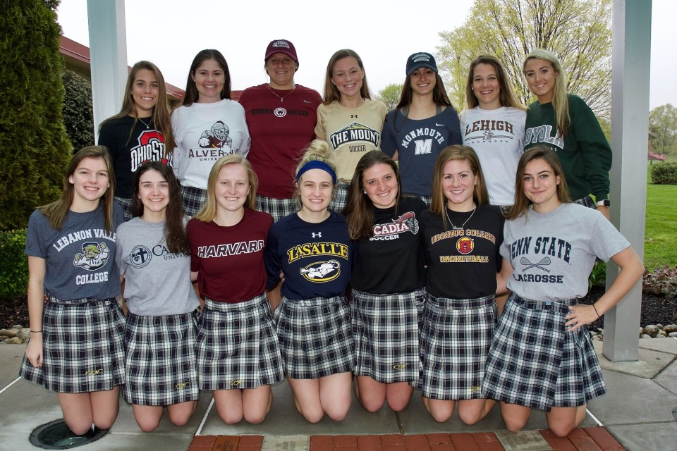 Villa Joseph Marie sending 14 student-athletes to next level