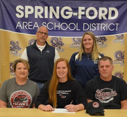 Spring-Ford's Megan Kern selects Saint Joseph's