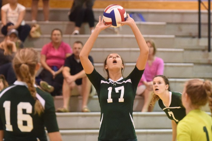 DLN-AREA VOLLEYBALL: Unbeaten Bishop Shanahan cruises to Ches-Mont League National Division title