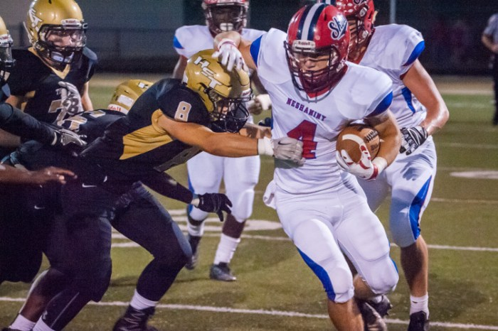 Neshaminy football rolls up huge numbers in win over Truman