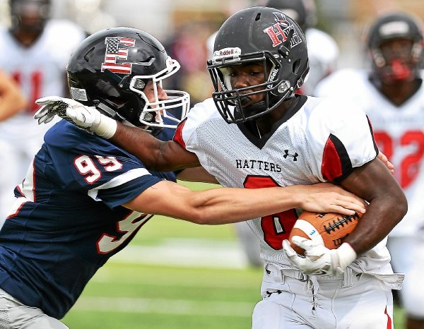 CB East runs away from Methacton in second half, wins 42-6