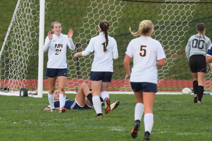 Mesaros, Pope John Paul II ease past Sun Valley 5-0 in District 1-AAA opening round