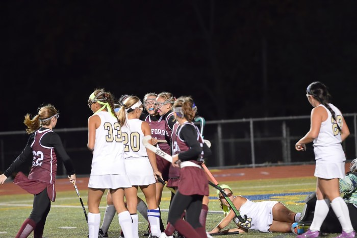 Johnson's two goals lift Oxford to first-ever district playoff victory
