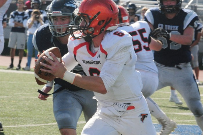 Pennsbury football rallies past Bensalem in double overtime