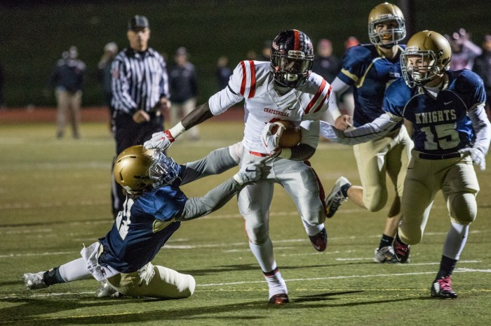 Coatesville evokes thoughts of 2012 team during romp of Rustin