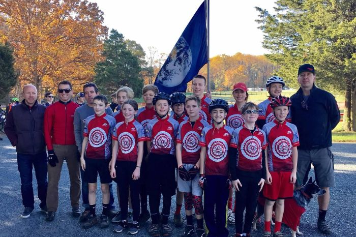 OJR mountain biking team makes the climb during inaugural season