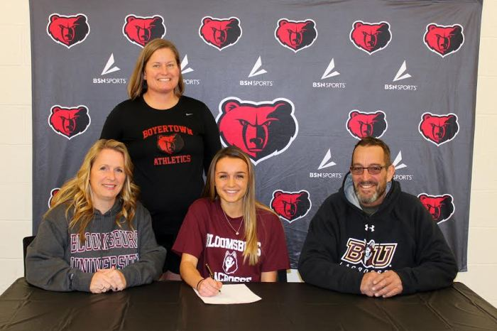 Boyertown's Bardman signs on with Bloomsburg