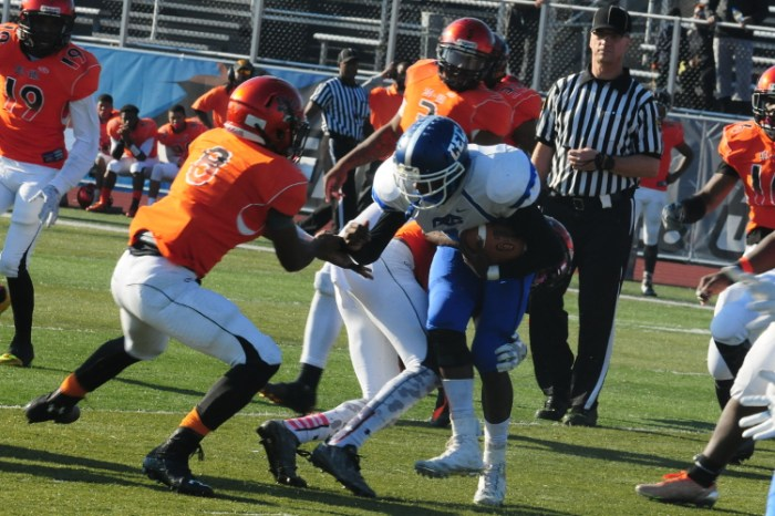 Delaware Valley Charter football rallies late to topple Conwell-Egan in District 1/12 championship