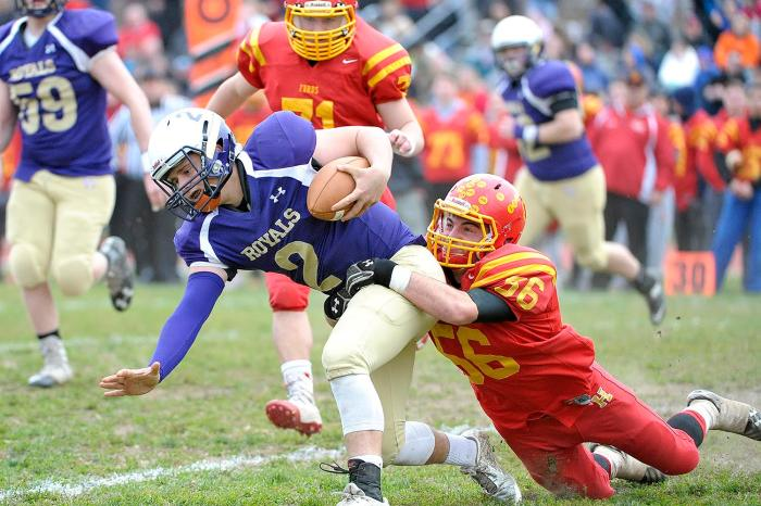 Upper Darby's Rimel sets record; Farrell, Haverford get win