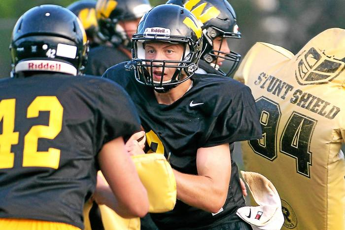 Colyar settles in as Archbishop Wood quarterback