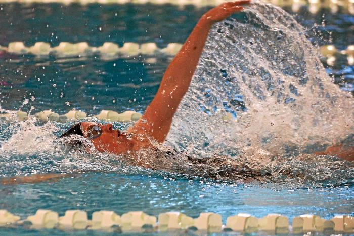 Pennridge's Scott defends 200 free title; Upper Dublin, North Penn in the hunt