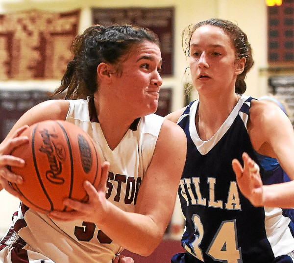 Villa Maria's defense gives undefeated Conestoga fits in Pioneers' 43-41 win