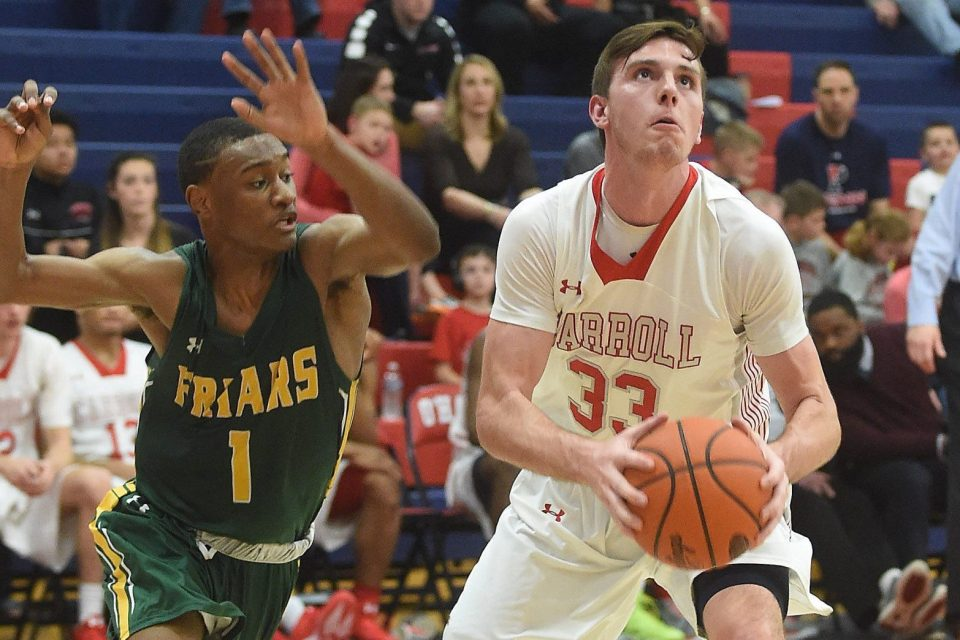 Depth, explosive offense power Carroll past Friars