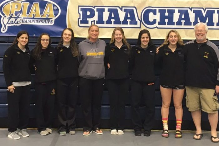Avon Grove girls complete climb to top, clinching state swim title