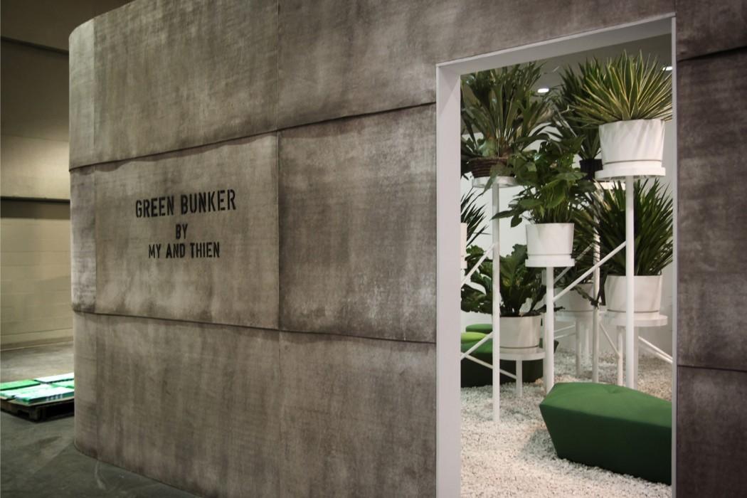 Paprika Domison Green Bunker