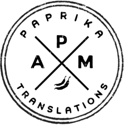 Paprika Translations Logo - English-to-Hungarian translator