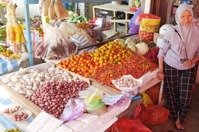 Pedagang di Pasar Boswesen