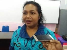 Anggota MRPB perwakilan perempuan, Christiana Ayelo.