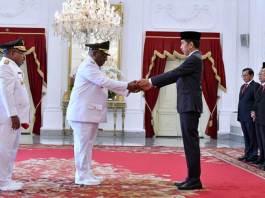 Pelantikan Lukas Enembe dan Klemen Tinal Gubernur dan Wakil Gubernur Papua 2018-2023