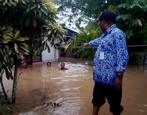 Banjir di kelurahan wosi