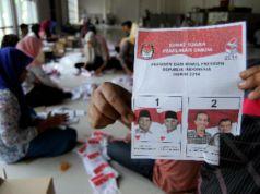 Surat Suara rusak di Papua Barat