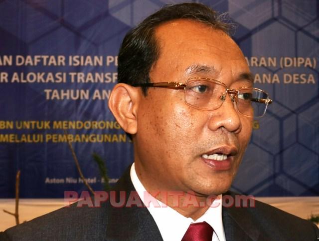 Kepala Kantor Wilayah Direktorat Jendral Perbendaharan Papua Barat, Arif Wibawa.