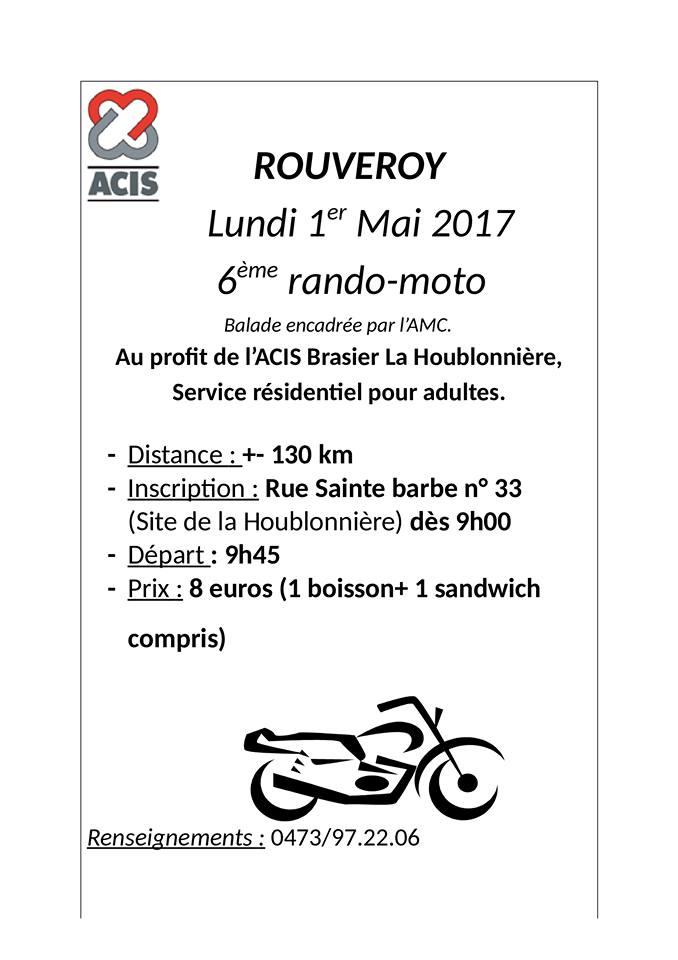 6e rando Moto – Rouveroy (Belgique)