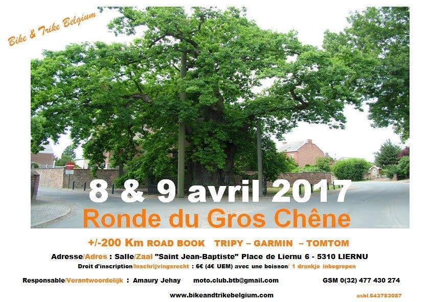 Ronde du Gros Chêne – Liernu (Belgique)