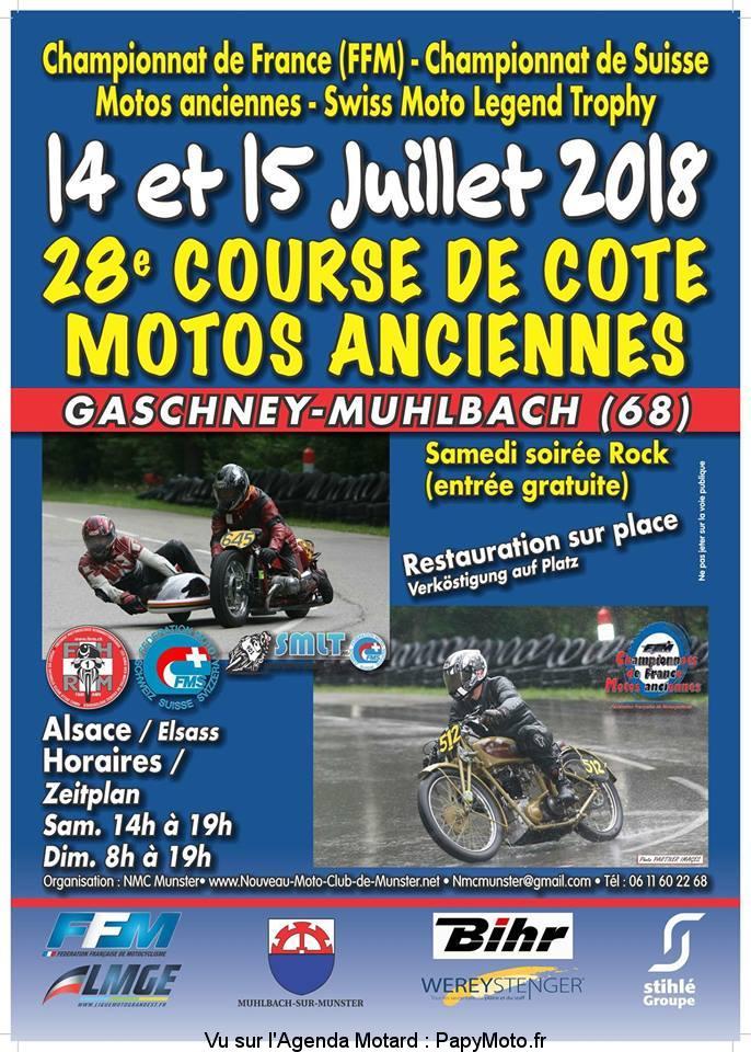 28e Course de Côte Motos Anciennes – Gaschney-Muhlbach (68)