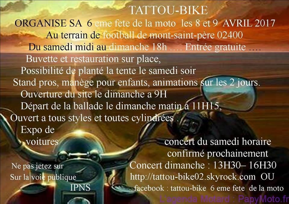 6e Fête de la Moto – Mont-Saint-Père (02)