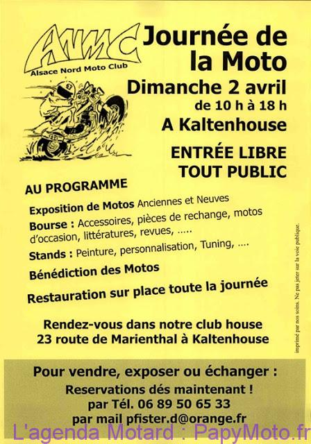 Journée de la Moto – Kaltenhouse (67)