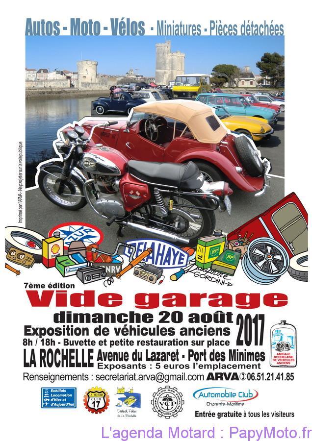 Vide Garage Autos-Motos-Vélos – La Rochelle (17)