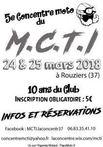 5e Concentre moto du M.C.T.I. - Rouziers (37) @ Rouziers | Rouziers-de-Touraine | Centre-Val de Loire | France
