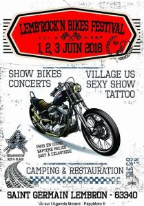 Lemb'Rock'n Bikes Festival - Saint Germain Lembron (63) @ Saint Germain Lembron (63) | Saint-Germain-Lembron | Auvergne-Rhône-Alpes | France