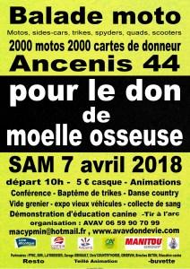 Balade Moto - Ancenis (44) @ Ancenis | Ancenis | Pays de la Loire | France