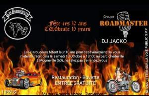 10 ans des Baroudeurs - Mogneville (60) @ Parc Chédeville | Mogneville | Hauts-de-France | France