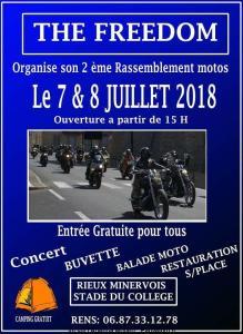 2e rassemblement Motos The Freedom - Rieux Minervois (11) @ Stade du collège | Rieux-Minervois | Occitanie | France