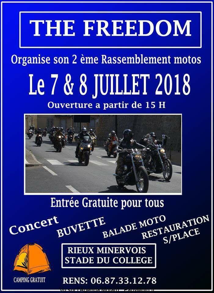 Occitanie - 7  & 8 juillet - 2E RASSEMBLEMENT MOTOS THE FREEDOM – RIEUX MINERVOIS (11) 2e-rassemblement-Motos-The-Freedom-Rieux-Minervois-11