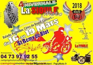 4E HIVERNALE MOTO LA SIOULE – SAINT RÉMY DE BLOT (63) @ Saint Rémy de Blot | Saint-Rémy-de-Blot | Auvergne-Rhône-Alpes | France