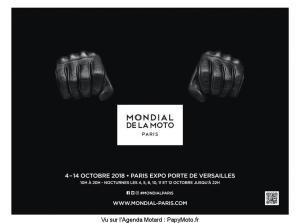 Mondial de la Moto - Paris (75) @ Paris Expo porte de Versailles | Paris | Île-de-France | France