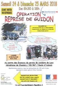 Opération Reprise de Guidon - Chambry (02) @ Centre des Examens du permis de conduire de Laon | Laon | Hauts-de-France | France