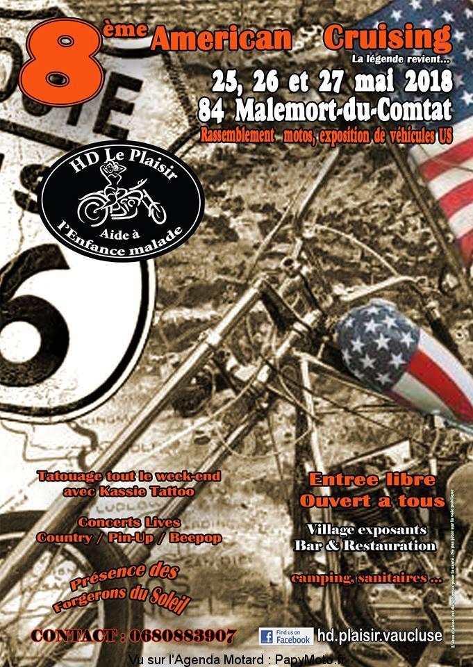 8E AMERICAN CRUISING À MALEMORT-DU-COMTAT (84)