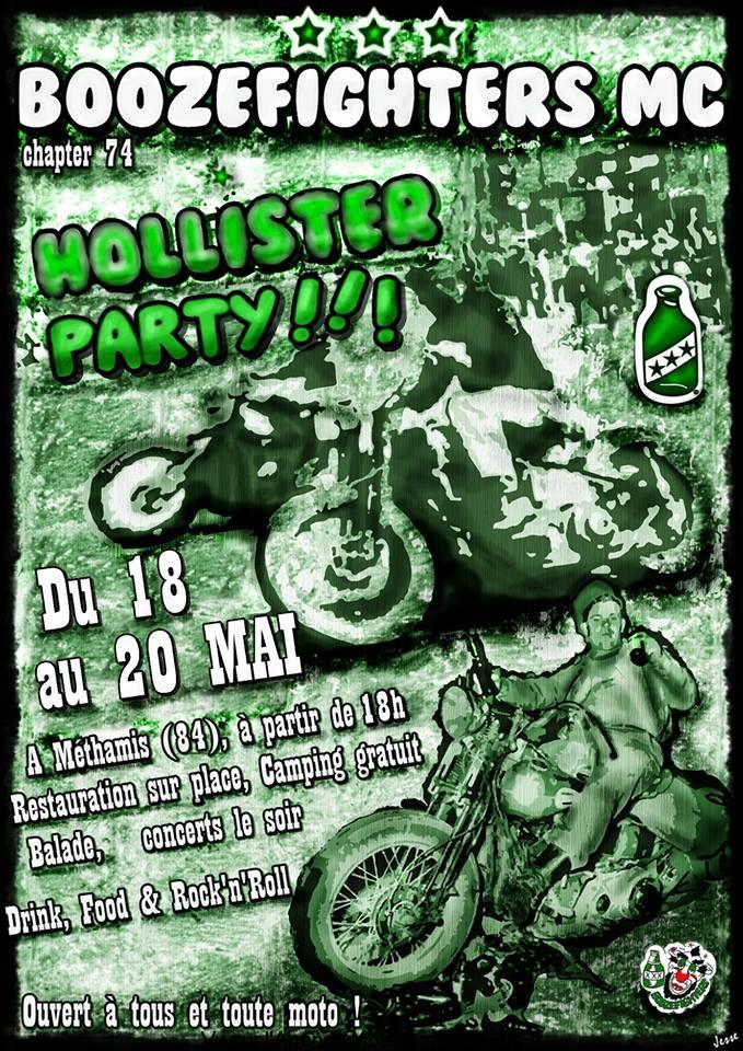 BOOZEFIGHTERS MC HOLLISTER PARTY – MÉTHAMIS (84)