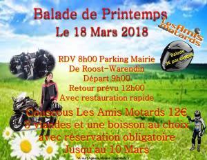 Balade de Printemps - Roost-Warendin (59) @ Parking Mairie | Roost-Warendin | Hauts-de-France | France